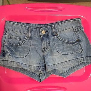 Mossimo light blue size 6 jean shorts